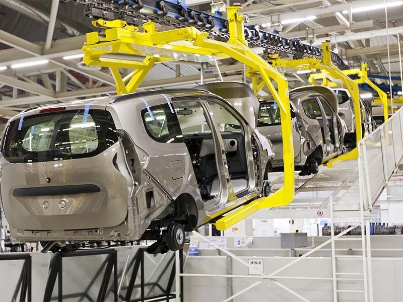 Gaz pour l'industrie automobile